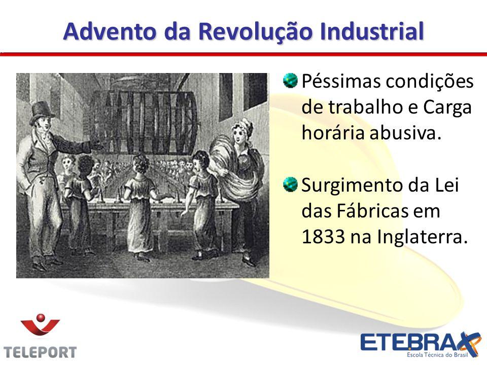 A Legislação Prevencionista no Brasil A Legislação Prevencionista no Brasil Em 1988, art.