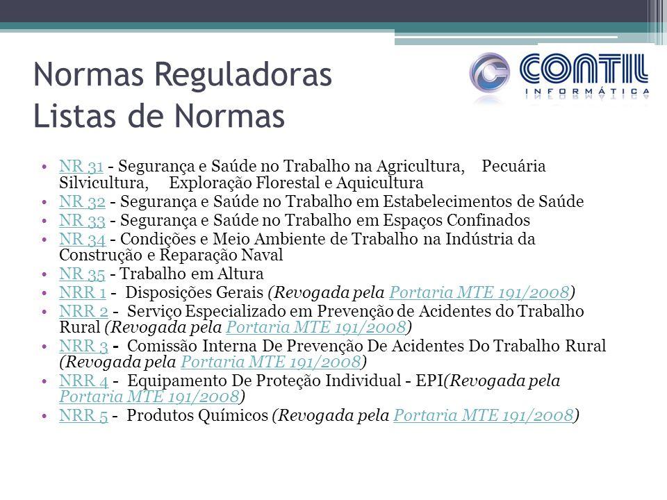 NR 31 - Segurança e Saúde no Trabalho na Agricultura, Pecuária Silvicultura, Exploração Florestal e AquiculturaNR 31 NR 32 - Segurança e Saúde no Trab