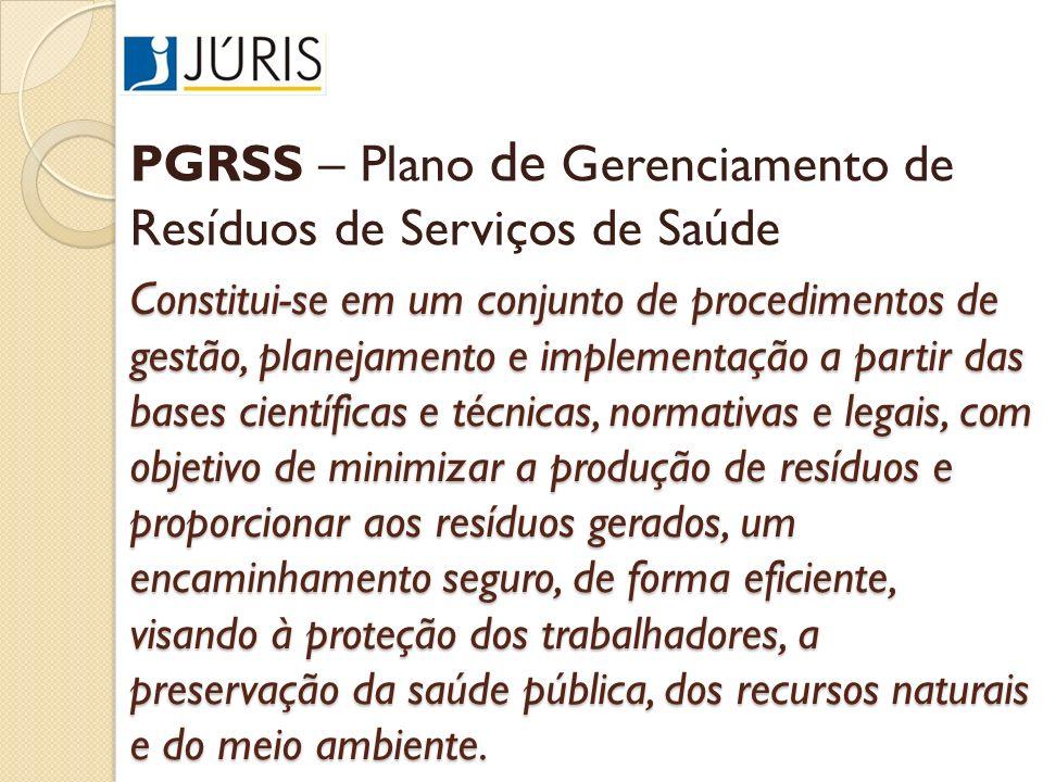 Constitui-se em um conjunto de procedimentos de gestão, planejamento e implementação a partir das bases científicas e técnicas, normativas e legais, c