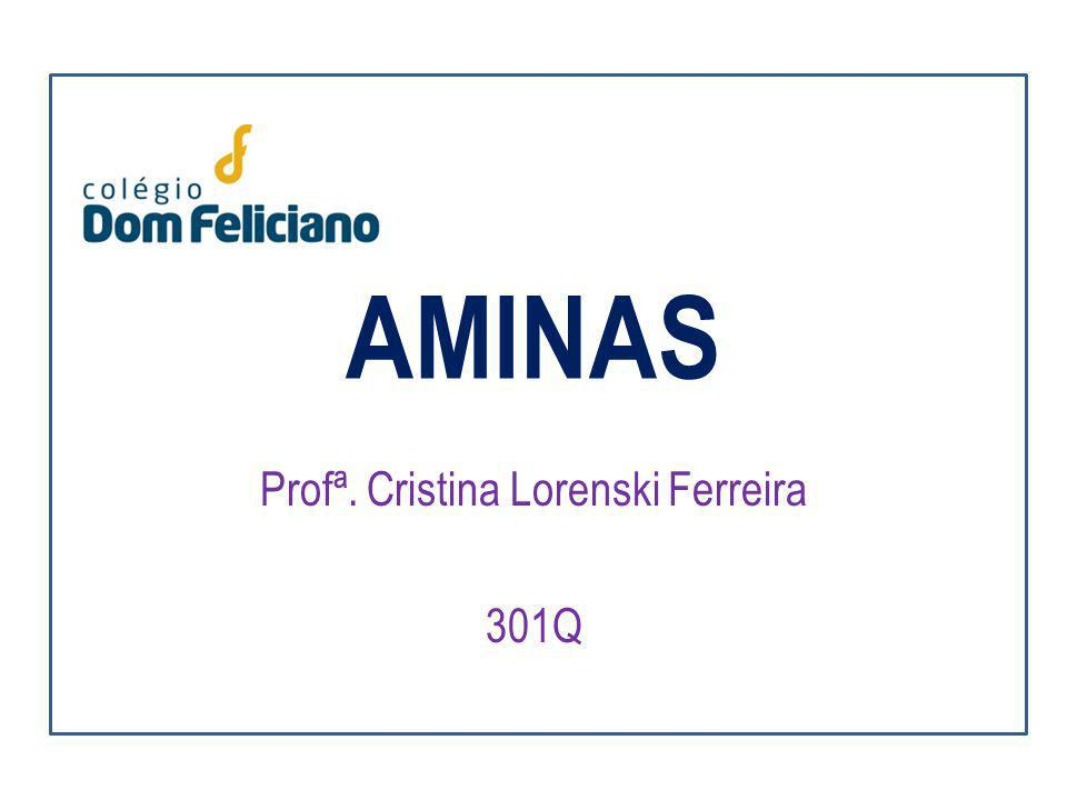AMINAS Profª. Cristina Lorenski Ferreira 301Q