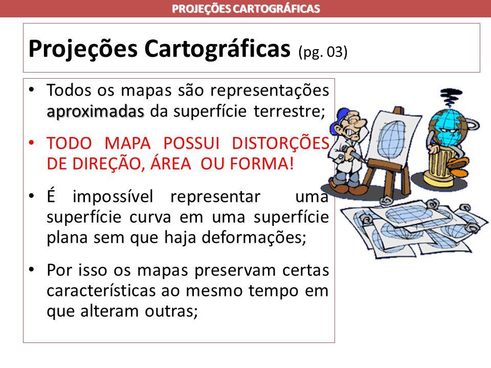 Projeções Cartográficas (pg.