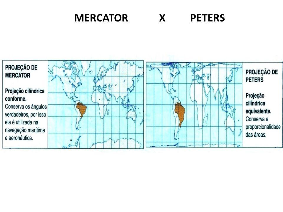 MERCATOR X PETERS