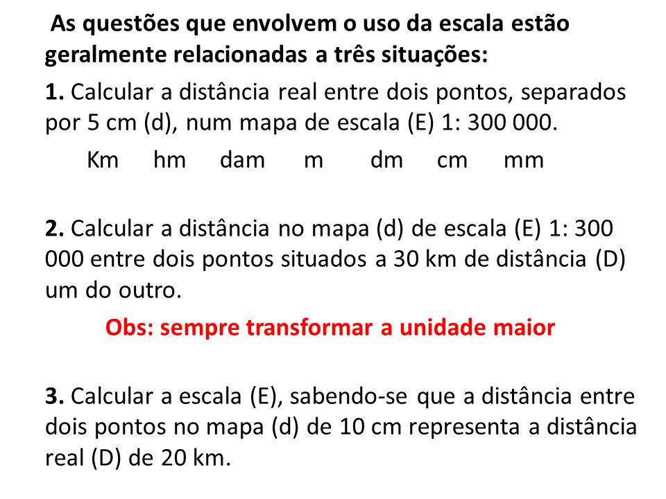 As questões que envolvem o uso da escala estão geralmente relacionadas a três situações: 1.