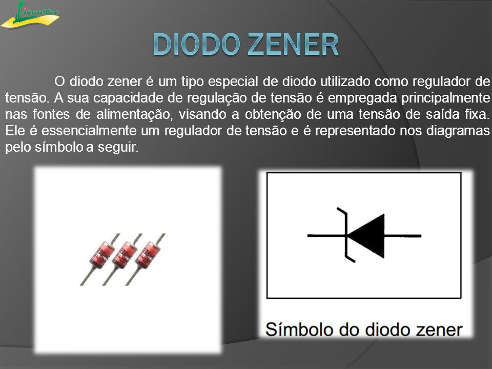 O comportamento do diodo zener depende fundamentalmente da forma como é polarizado.