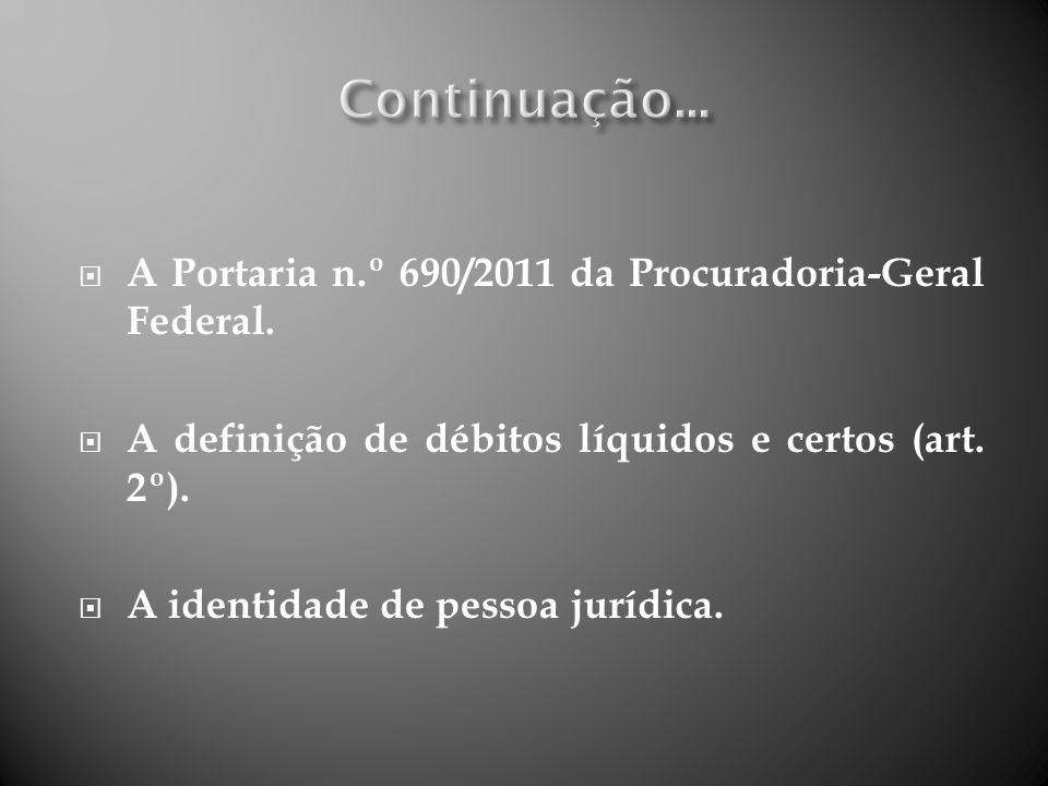 Parcelamento fiscal; Existência de contraditório: o impugnação em 15 dias; o Discussão do mérito em ação autônoma (art.