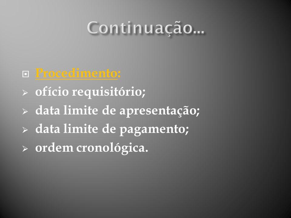 Justificativa: princípios constitucionais da impenhorabilidade e da inalienabilidade dos bens públicos.