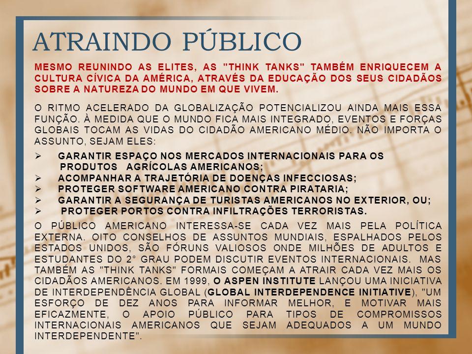 ATRAINDO PÚBLICO MESMO REUNINDO AS ELITES, AS