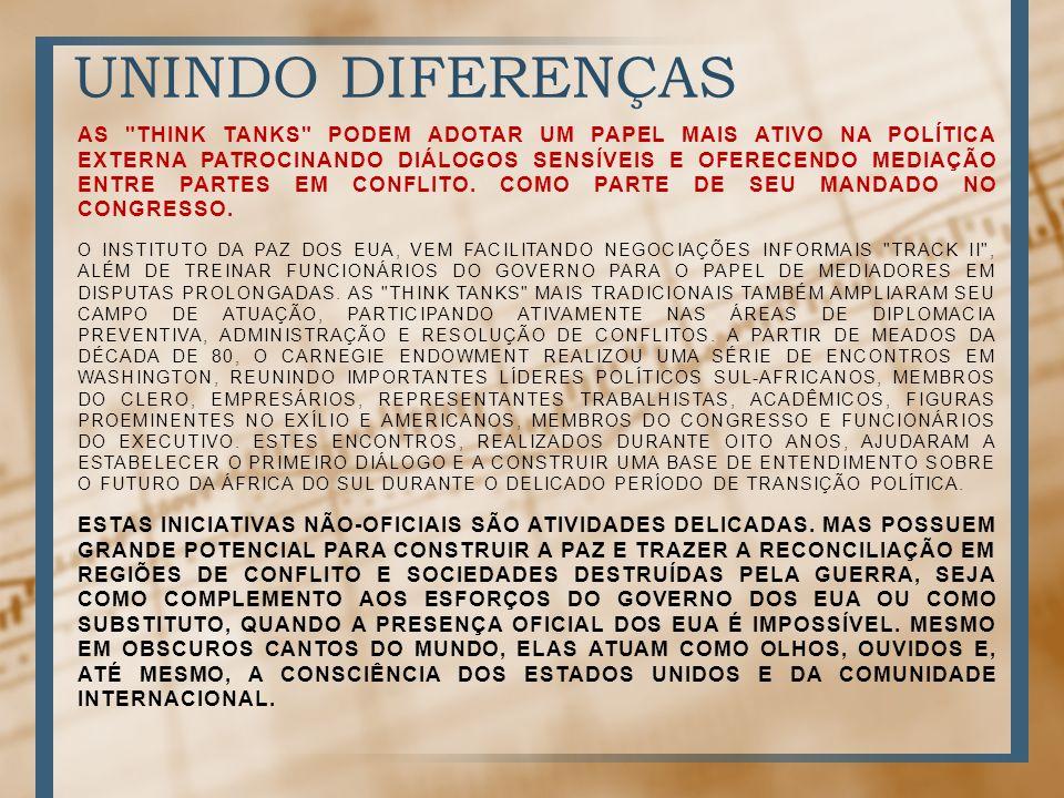 UNINDO DIFERENÇAS AS