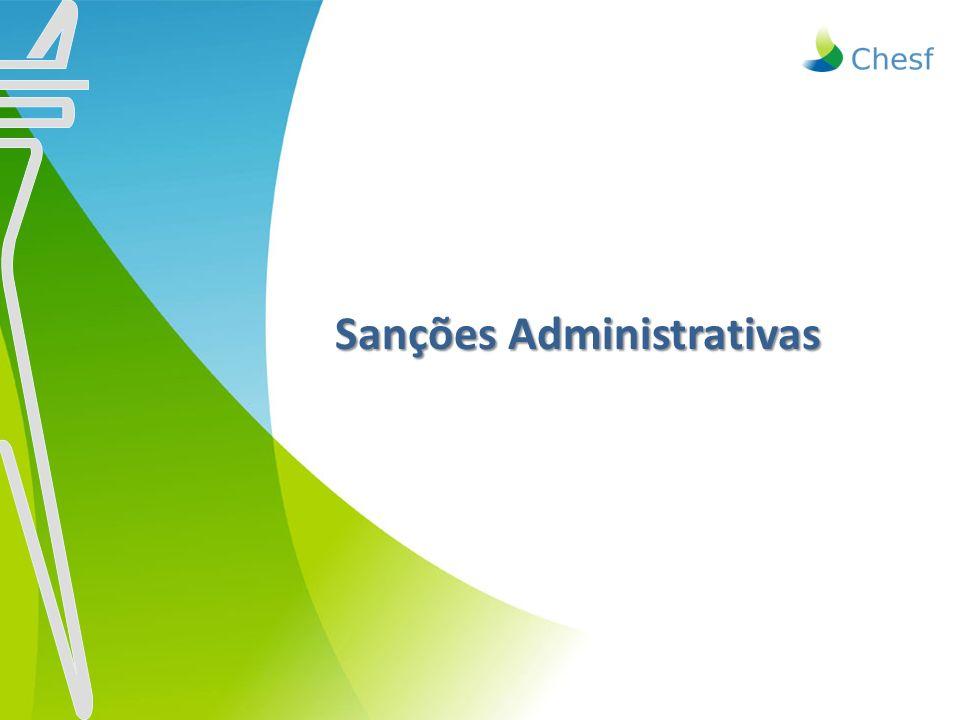 Sanções Administrativas Sanções Administrativas