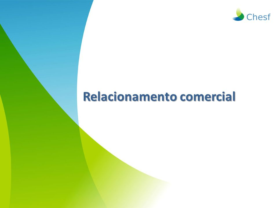 Relacionamento comercial Relacionamento comercial