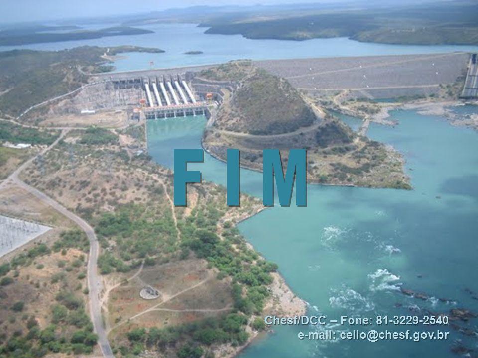 Chesf/DCC – Fone: 81-3229-2540 e-mail: celio@chesf.gov.br
