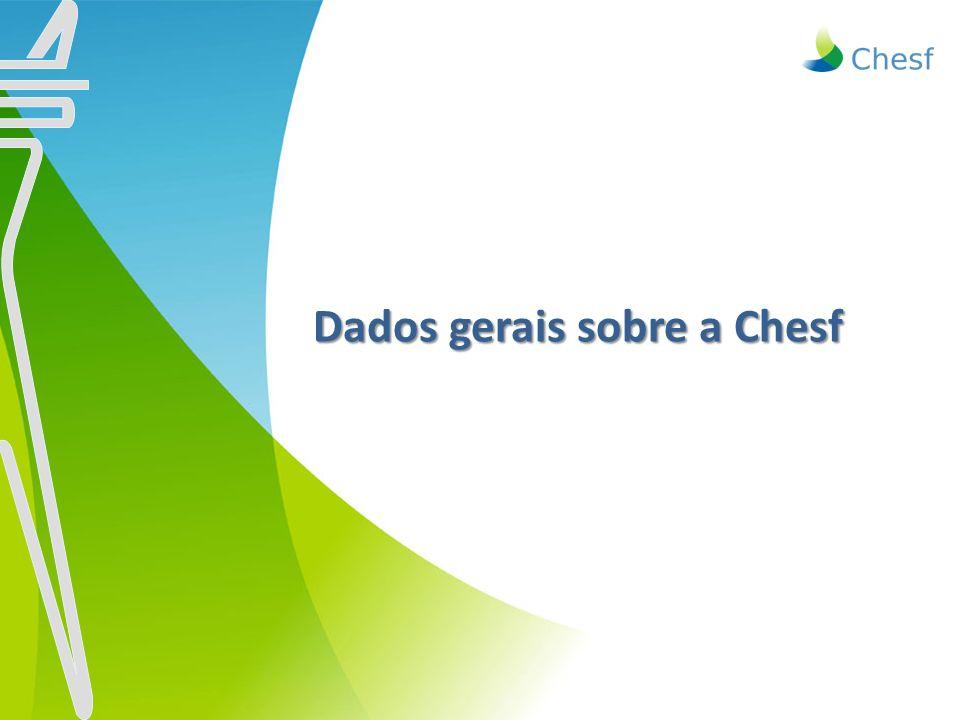 Dados gerais sobre a Chesf Dados gerais sobre a Chesf