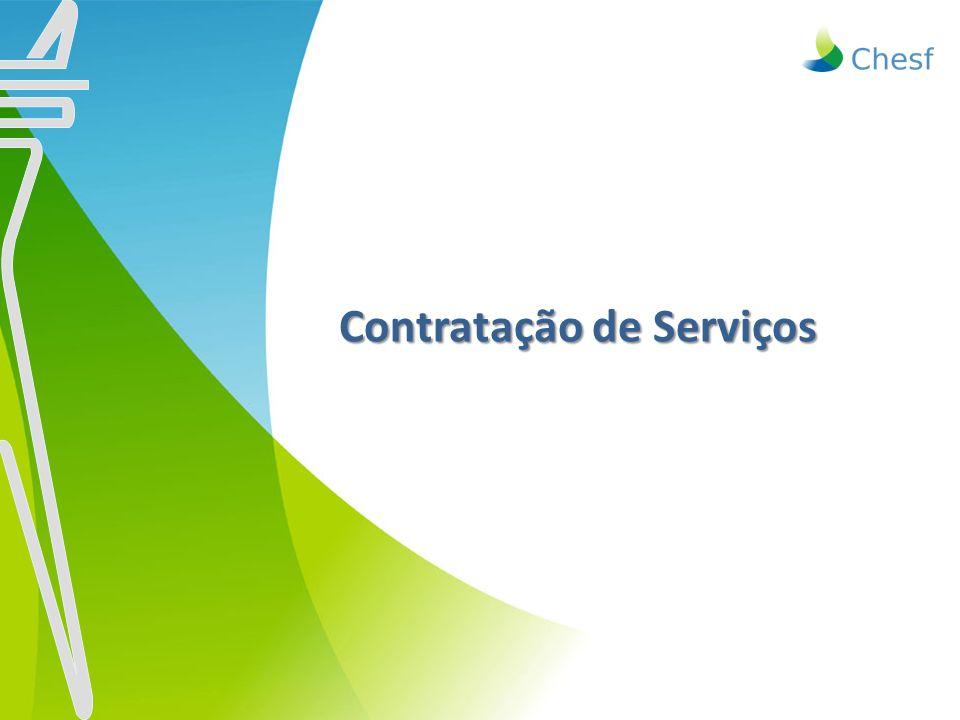 Contratação de Serviços Contratação de Serviços