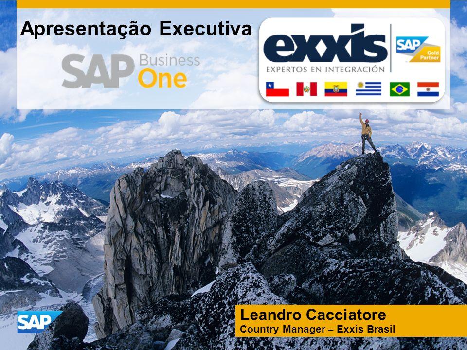 Apresentação Executiva Leandro Cacciatore Country Manager – Exxis Brasil