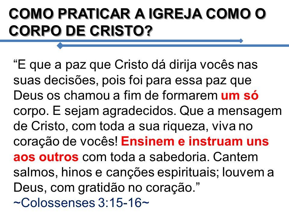PROCESSO N.º 3 CAPACITADO PELO MINISTÉRIO QUÍNTUPLO E ele designou alguns para apóstolos, outros para profetas, outros para evangelistas, e outros para pastores e mestres, com o fim de preparar os santos para a obra do ministério, para que o corpo de Cristo seja edificado ~Efésios 4:11-12~ 1.Cada santo (Membro de célula) deve EDIFICAR O CORPO DE CRISTO.