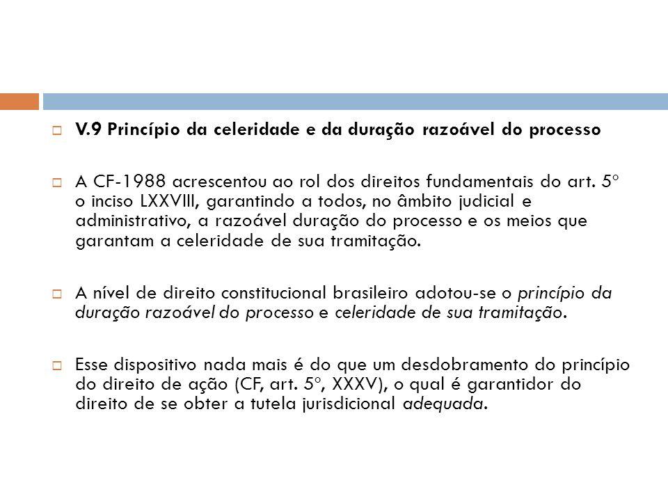 V.8 Princípio da motivação das decisões judiciais Art. 93, IX e X (decisões administrativas dos tribunais devem ser motivadas), da CF-1988, em consonâ