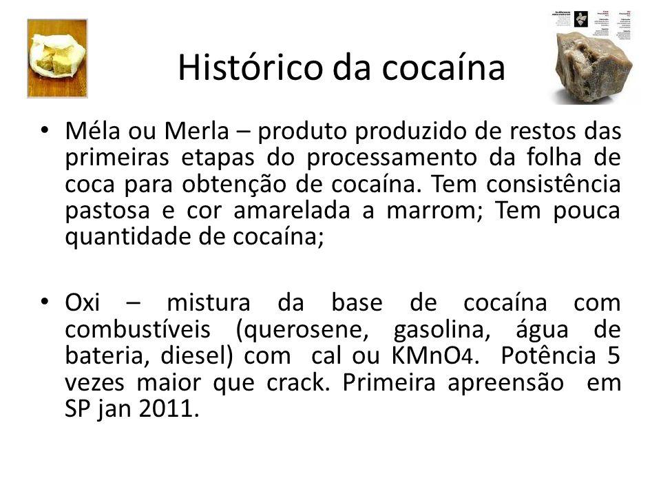 Méla ou Merla – produto produzido de restos das primeiras etapas do processamento da folha de coca para obtenção de cocaína. Tem consistência pastosa