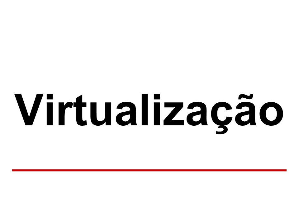 A solução Virtualização ______________________