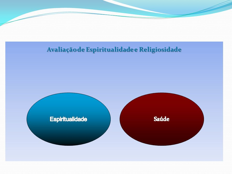 Avaliação de Espiritualidade e Religiosidade