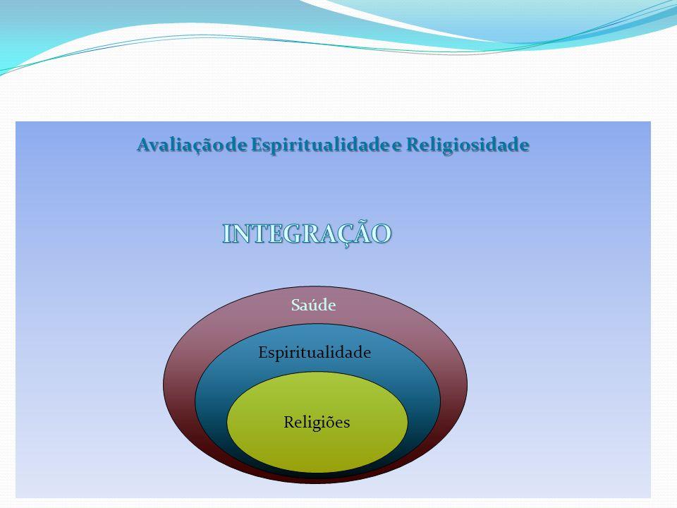 Avaliação de Espiritualidade e Religiosidade Religiões Espiritualidade Saúde