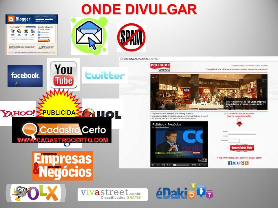 ONDE DIVULGAR PUBLICIDA DE WWW.CADASTROCERTO.COM