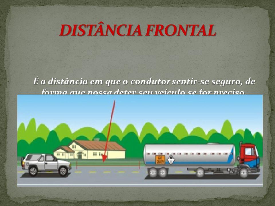 É a distância mínima de 1,5m., em que o condutor deve guardar ao ultrapassar ou cruzar outro veículo.