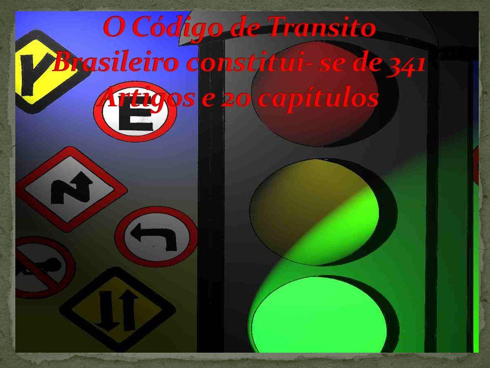 De acordo com a lei n° 9.503 de 23 de setembro de 1.997, que instituiu o Código de Trânsito Brasileiro, com atualização da lei n° 9.602/98, ficou esta