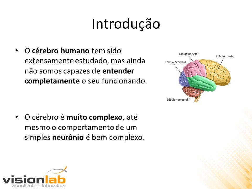 Introdução O cérebro humano tem sido extensamente estudado, mas ainda não somos capazes de entender completamente o seu funcionando. O cérebro é muito