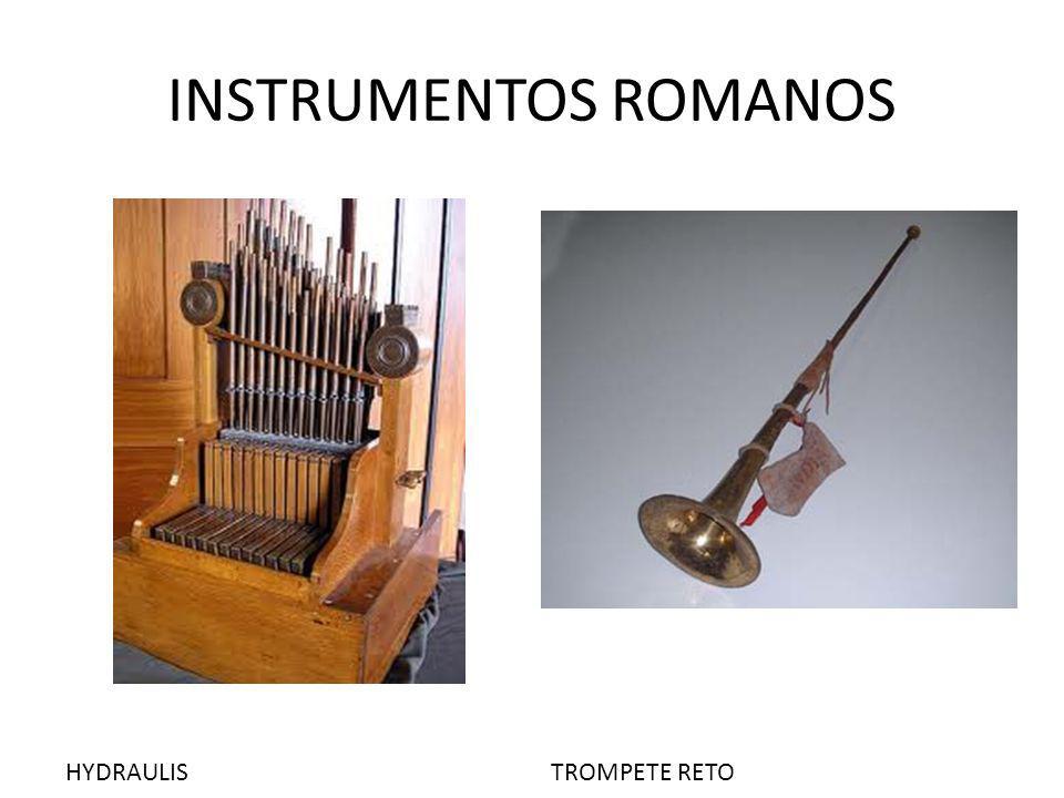 INSTRUMENTOS ROMANOS HYDRAULISTROMPETE RETO