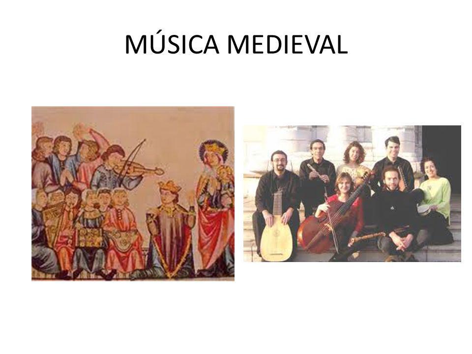 A Igreja, durante a Idade Média, ditou as regras culturais, sociais e políticas de toda a Europa, com isto interferindo na produção musical daquele momento.