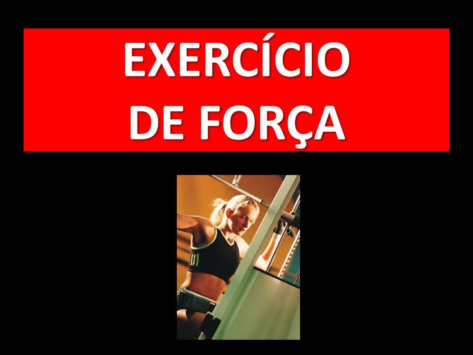 EXERCÍCIO DE FORÇA