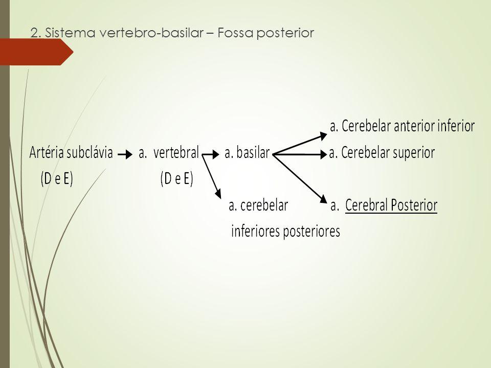2. Sistema vertebro-basilar – Fossa posterior