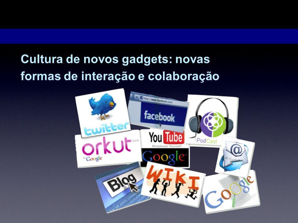Webquest Cultura de novos gadgets: novas formas de interação e colaboração