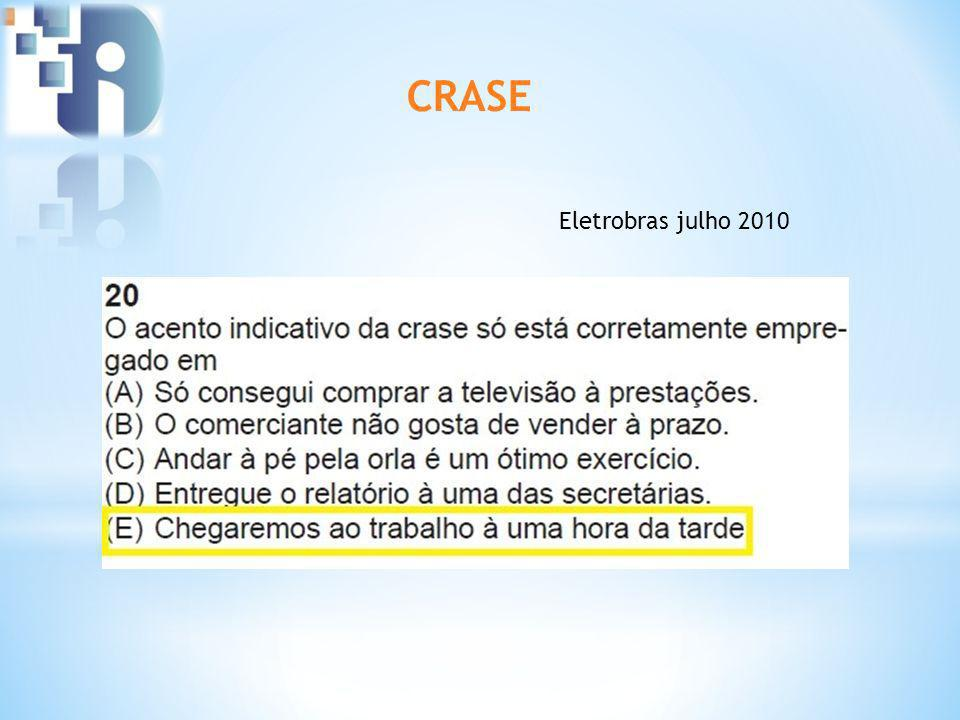 CRASE Eletrobras julho 2010
