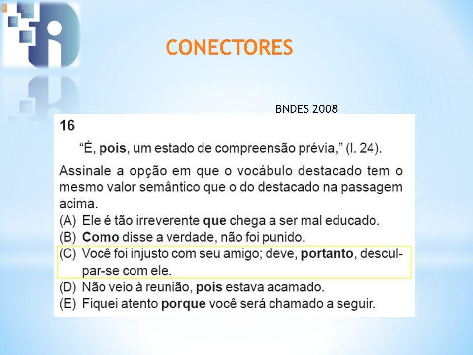 CONECTORES BNDES 2008