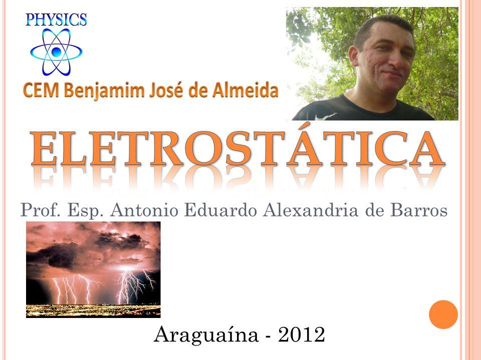 Prof. Esp. Antonio Eduardo Alexandria de Barros Araguaína - 2012