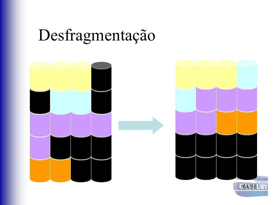 64/68 Desfragmentação