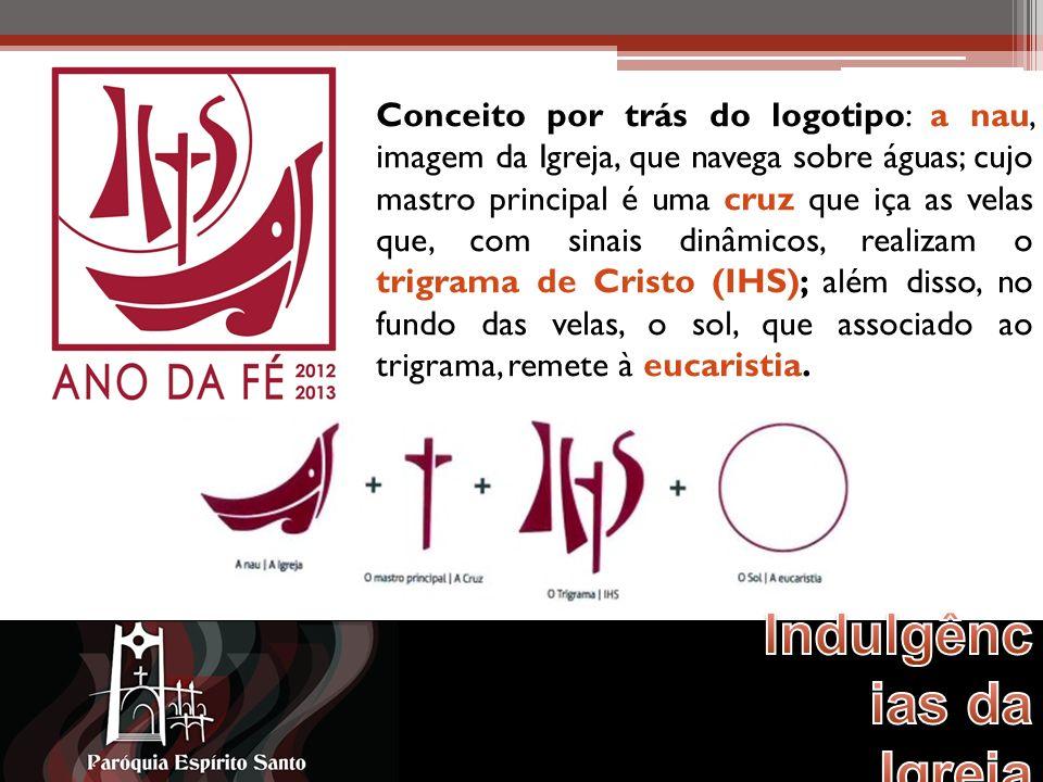Conceito por trás do logotipo: a nau, imagem da Igreja, que navega sobre águas; cujo mastro principal é uma cruz que iça as velas que, com sinais dinâmicos, realizam o trigrama de Cristo (IHS); além disso, no fundo das velas, o sol, que associado ao trigrama, remete à eucaristia.