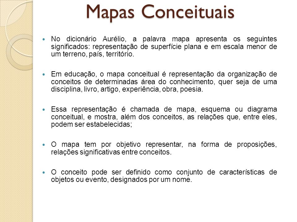 No dicionário Aurélio, a palavra mapa apresenta os seguintes significados: representação de superfície plana e em escala menor de um terreno, país, te