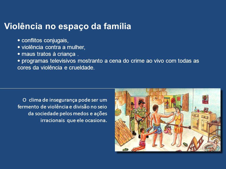 conflitos conjugais, violência contra a mulher, maus tratos à criança. programas televisivos mostranto a cena do crime ao vivo com todas as cores da v
