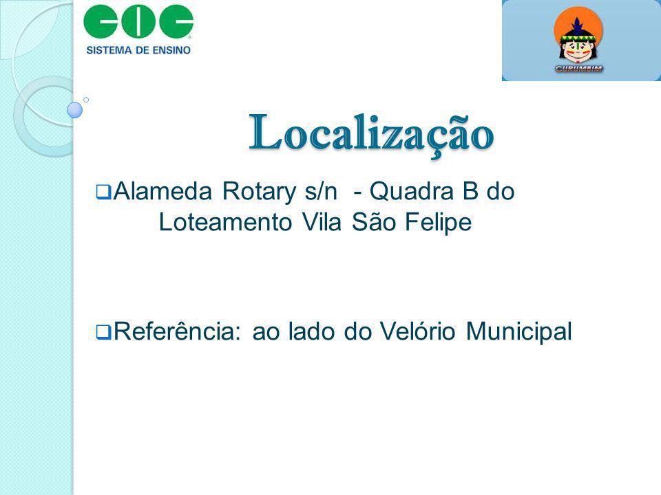 Localização Alameda Rotary s/n - Quadra B do Loteamento Vila São Felipe Referência: ao lado do Velório Municipal