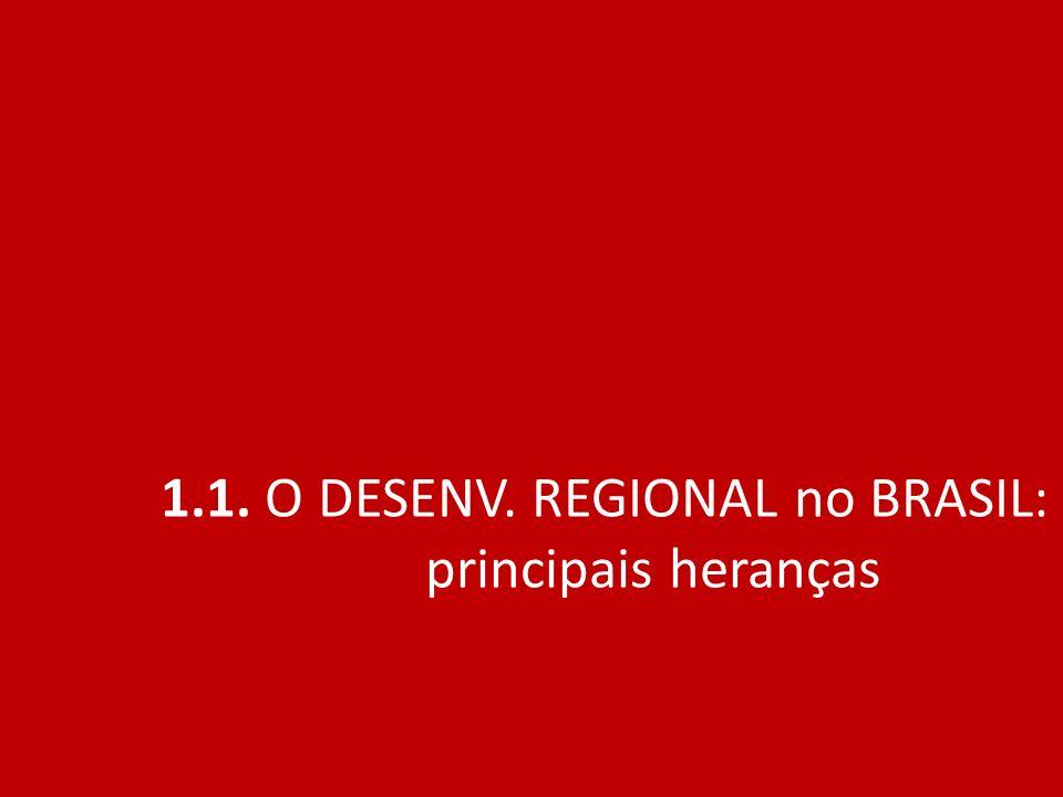 EMPREGO FORMAL NA INDUSTRIA DE TRANSFORMAÇÃO SE ESPALHA (1990 - 2007) Fonte : OLIVEIRA CRUZ, Bruno e SOARES DOS SANTOS, Iury Roberto.