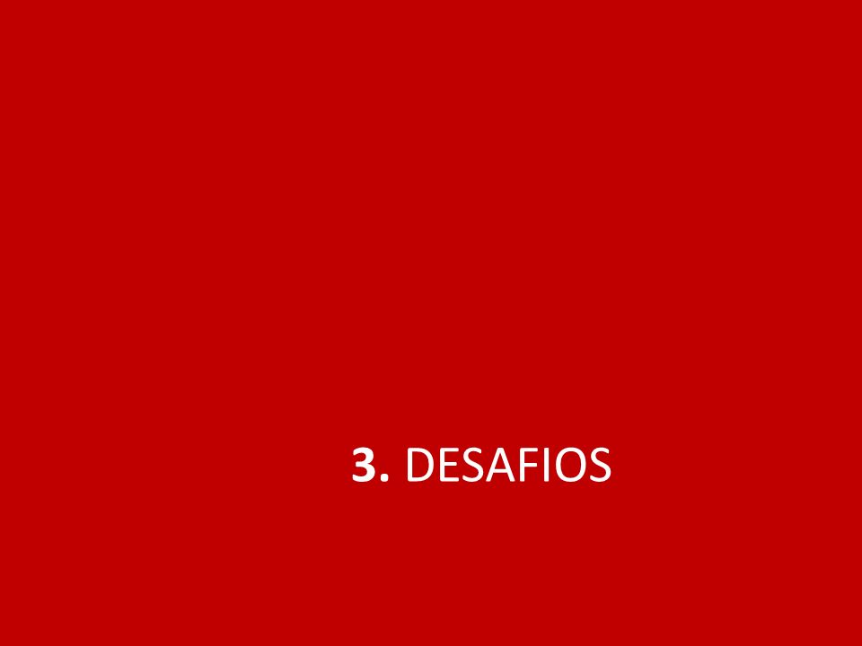 3. DESAFIOS
