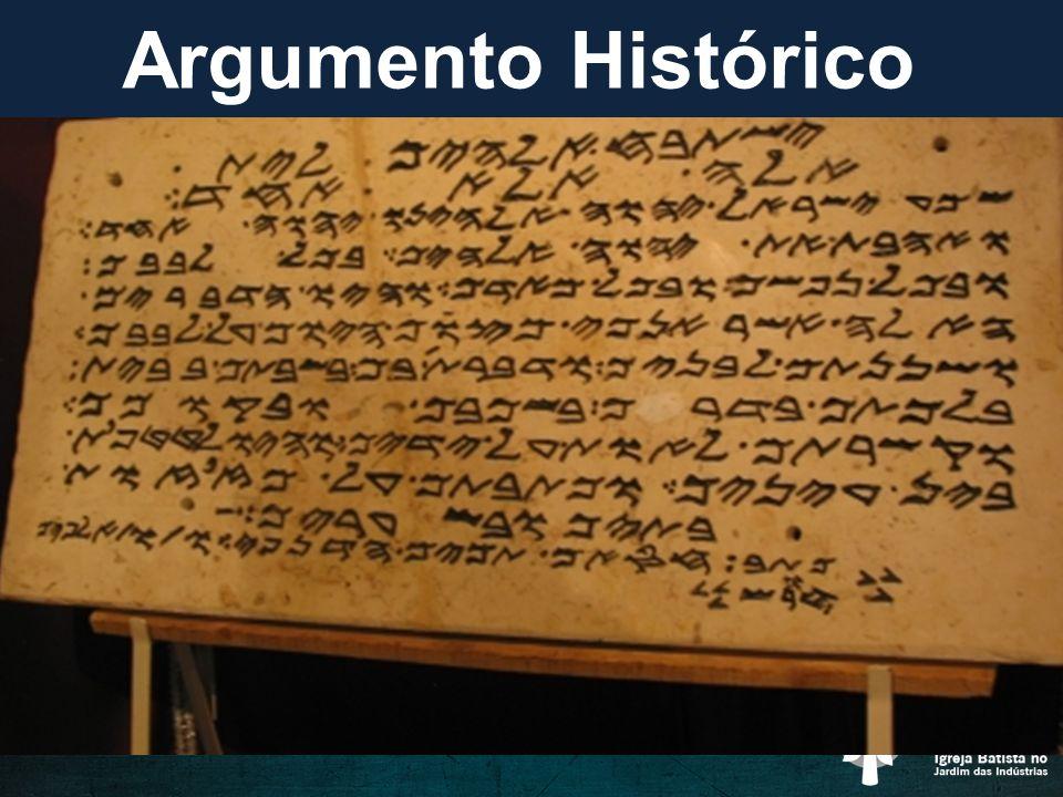 Porque a Bíblia é Confiável? a. Argumento Histórico b. Argumento Textual c. Argumento Religioso