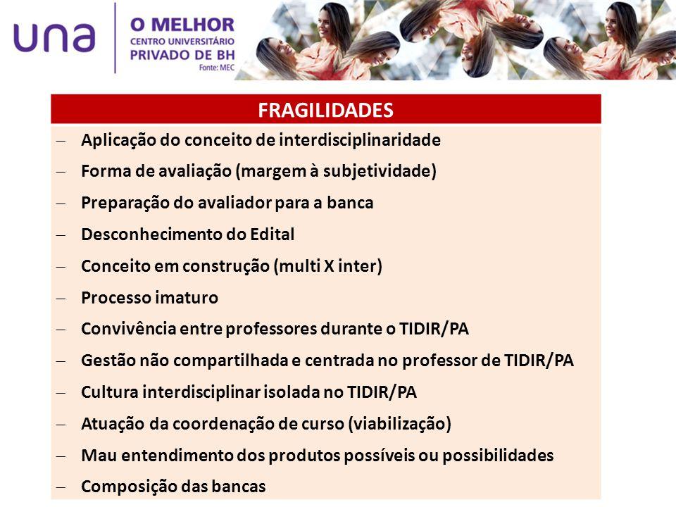 BANCA DE QUALIFICAÇÃO As bancas de qualificação, para os cursos que optarem pela realização das mesmas, ocorrerão na 2ª semana de orientação do TIDIR/PA (5 a 9 de maio).