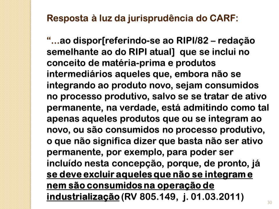 Resposta à luz da jurisprudência do CARF:...ao dispor[referindo-se ao RIPI/82 – redação semelhante ao do RIPI atual] que se inclui no conceito de maté
