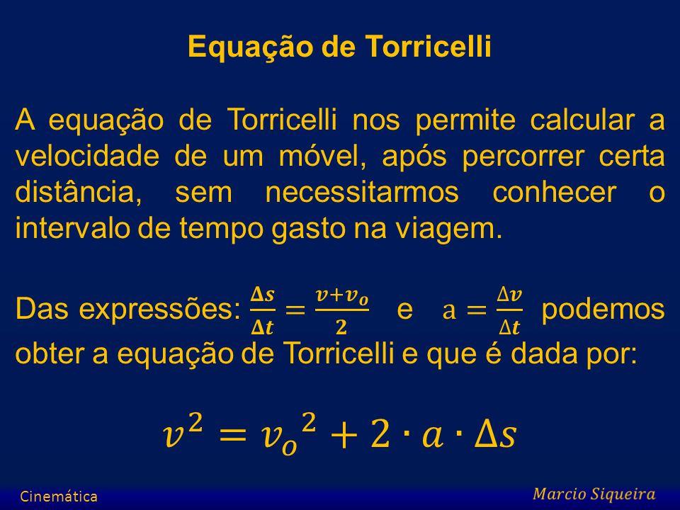 Exercícios 1.Uma partícula obedece à seguinte função horária: S = 60 – 4.t (m, s), determine: a)A posição no instante t = 3 s; b) O instante em que passa pela origem dos espaços.