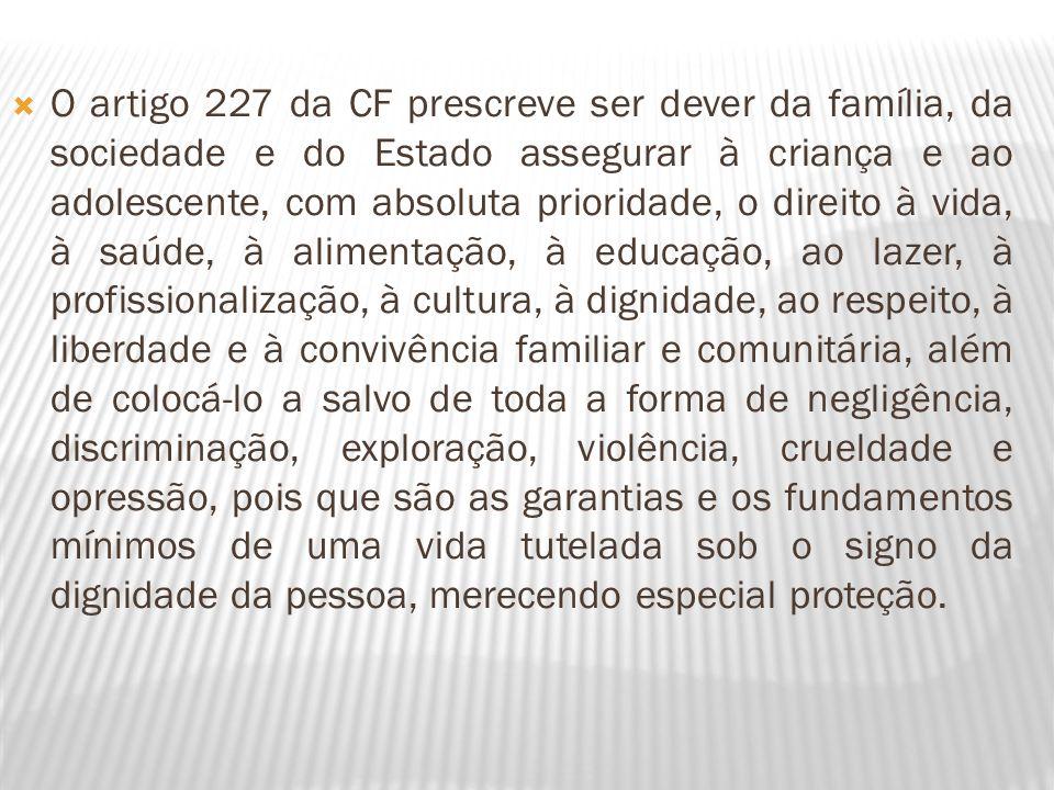 O artigo 230 da CF prevê que têm a família, a sociedade e o Estado o dever de amparar as pessoas idosas, assegurar sua participação na comunidade, defender sua dignidade e bem-estar e garanti-lhe o direito à vida.