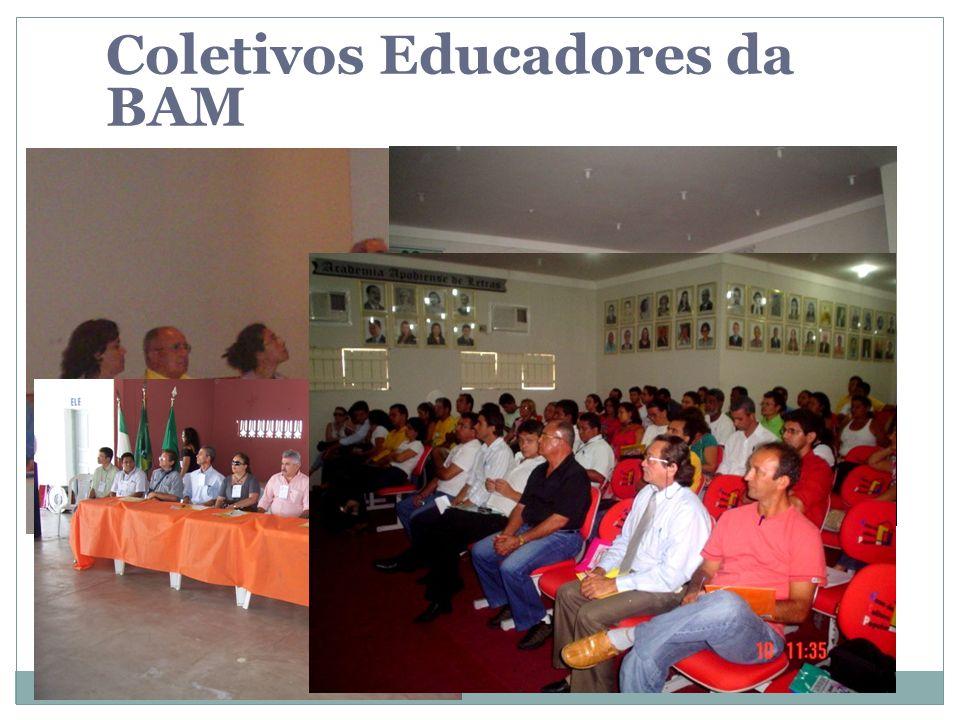Coletivos Educadores da BAM
