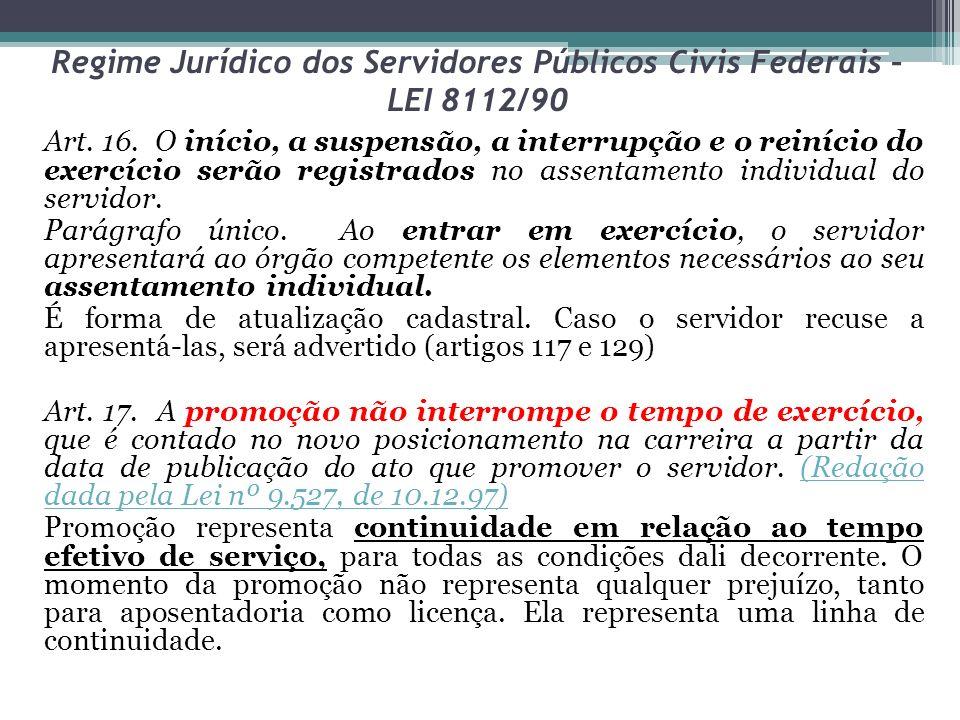 Regime Jurídico dos Servidores Públicos Civis Federais – LEI 8112/90 Seção VIII Da Reversão (Regulamento Dec.